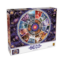 Puzzle 5000 Peças Zodíaco Grow