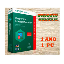 Kaspersky Internet Security 2017 -2018 1 Pc 1 Ano!