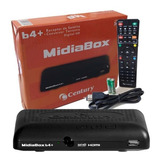 Receptor + Conversor Midiabox B3 Hd Digital Tv + 60 Canais