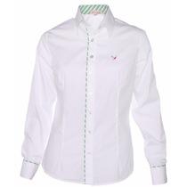 Camisete Feminina Branco Algodão Egípcio Plus Size Camisa