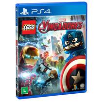Jogo Lego Marvel Vingadores Playstation 4 Original Ps4 Pt-br