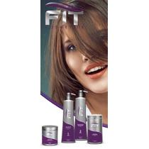 Kit Escova Progressiva Fit Cosmetics Passo 1 E 2. 1 Litro