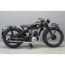 Manual De Serviço Moto Dkw - 1935 - Em Pdf - Em Alemão