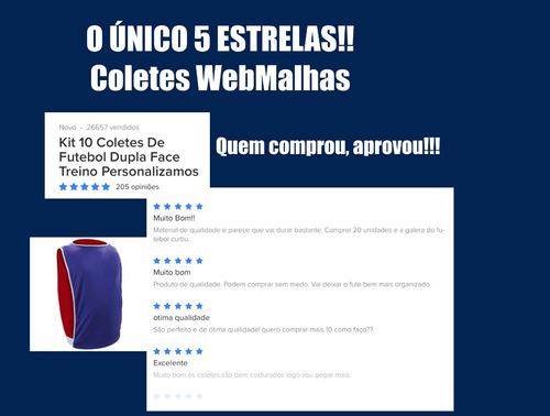 1d1c8914586a2 10 Colete De Futebol Dupla Face Treino Personalizamos R 104.9 kL2tJ ...
