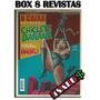 Box 8 Revistas Chiclete Com Banana Antologia Humor