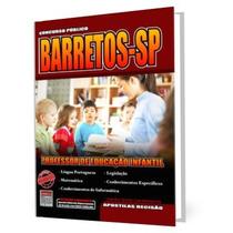 Apostila Prefeitura De Barretos Professor Educação Infantil