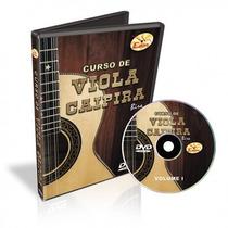 Dvd Edon Curso De Viola Caipira Vol 1 Na Cheiro De Musica