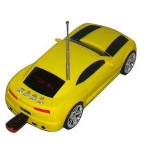 Camaro Caixa Som Carrinho Carro Toca Musica Radio Mp3 Player