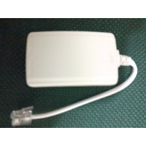 5 Unidades Micro Filtro Adsl Telefone Modem Internet Duplo