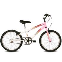 Bicicleta Infantil Verden Feminina Aro 20 Brave Rosa/branco