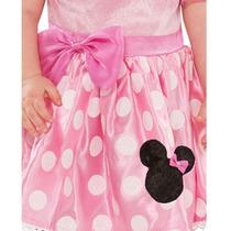 a5bf244719f17 Roupas De Bebe Menina Vestido Minnie Rosa Disney Original à venda em ...