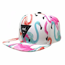 Boné Hosh Wear Snapback Flamingos Feminino