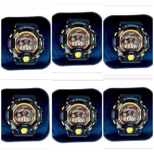73460cb3330 Kit C  10 Relógios +10 Caixinha Brinde Atacado Revenda Top. R  250