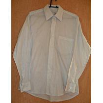 Camisa Unisex, Listradinha Pb - Tam Gg = 120 Cm De Busto