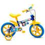 Bicicleta Bicicletinha Infantil Masculina Aro 12(3 A 5 Anos)