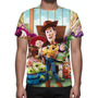 Camisa, Camiseta Disney Toy Story - Estampa Total