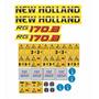 Kit Adesivos Motoniveladora New Holland Rg170b Rg 170b Mk Original