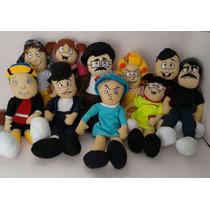 Coleção Turma Do Chaves Com 13 Personagens Frete Gratis