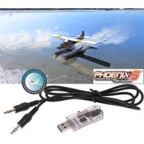 Cabo Simulador Phoenix Aerofly Fms Avião Drone Helicoptero