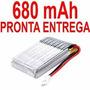 Bateria 680 Mah 3.7v Para Syma X5c X5 V931