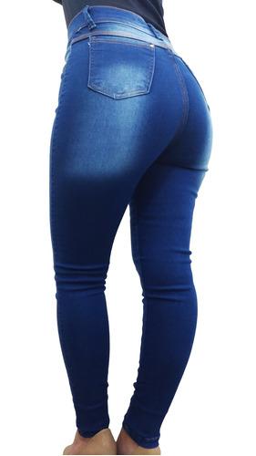 fa74d09c8 Kit 03 Calças Jeans Femininas Diversas Cintura Alta C Lycra