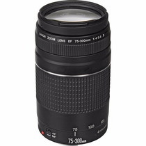 Lente Canon Ef 75-300mm F/4-5.6 Iii Autofoco Garantia 1 Ano