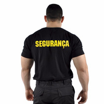 Camiseta Estampada Segurança - Original