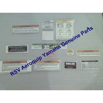 Adesivo Etiqueta Advertência Precaução Dt200 Dt200r Original
