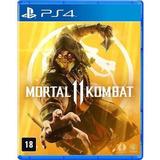 Jogo Mortal Kombat 11  Playstation 4 Ps4 Mídia Física