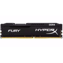 Memória Pc/desk Kingston 8gb Ddr4 2400mhz Hyperx Fury Gamer