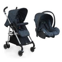 Carrinho De Bebê Compasso E Bebê Conforto Baby - Netuno B