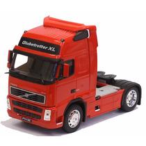 Miniatura Caminhão Volvo Fh 12 Vermelho
