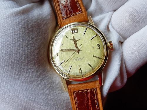 13716fc54a7 Relógio Longines Conquest Automático Ouro Maciço Masculino