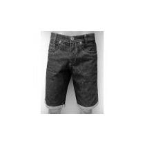 Bermuda Jeans Listrada Masculino R V18 Alta Qualidade Linda