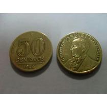 Moeda 50 Centavos De 1944