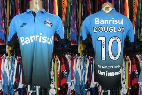 Brechó do Futebol - Grêmio 2015 Terceira Camisa Tamanho M Número 10 ... bc892cc4fd863