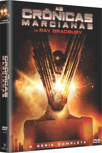 As Crônicas Marcianas -  A Série Completa Dvd Box Original