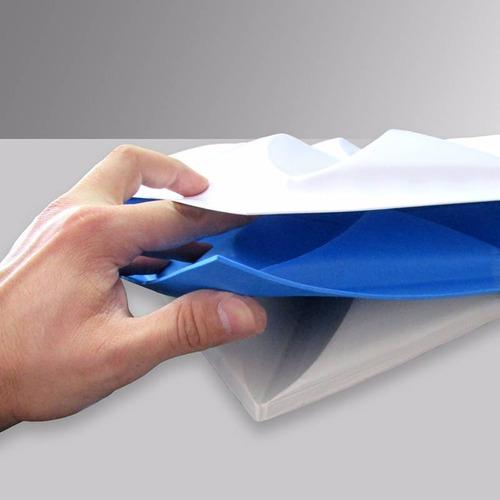 Forma Placa Gesso 3d - Ref.15 - 44x29 Cm Plástico + Eva