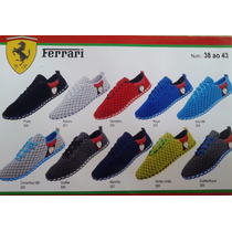 Tênis Sapatilha Ferrari 2015 - Frete Gratis