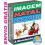 Kit De Imagens Alta Resolução Natal Ano Novo Decoração Print