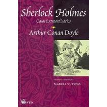 Livro Sherlock Holmes Casos Extraordinários Ed:ftd