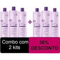 Combo 02 Kits Selagem Termica Plastica Dos Fios Cadiveu 6x1l
