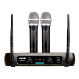 Kit De Microfones Vokal Vws-20 Plus Dinâmico