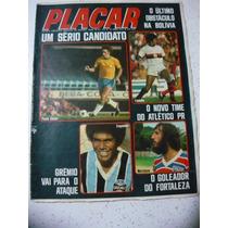 Placar N 213 Poster Luis Pereira 1974 Sicupira Grêmio Volei