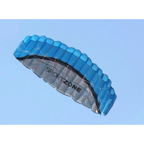 Pipa Kite Acrobática Parapente Paraglider Duplo Comando 2,5m