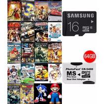 + De 2800 Patch Psp + Cartão 16gb Sansung (classe 6)