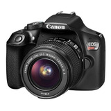 Dslr Canon Eos Rebel T6 18mp + Lente Ef-s 18-55mm I I