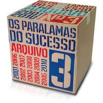 Paralamas Do Sucesso Arquivo 3 Cd Original Novo Lacrado Raro