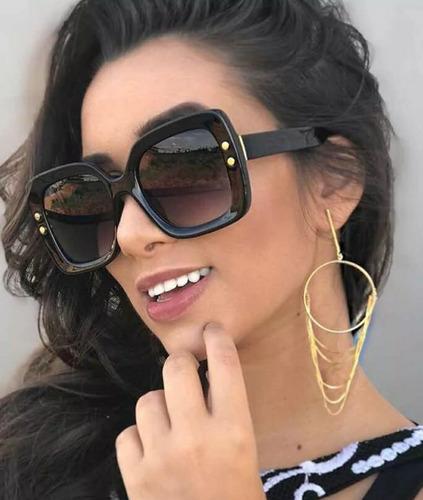 937dcdef7 Óculos Verão 2019 Tendencia Feminino De Sol Modelo Novo Luxo. R$ 39.91