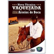 Dvd Vaquejada Somente Com Arreios De Boca - Sem Professora